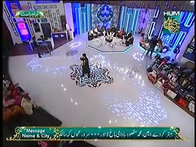 Farhan Ali Waris Reciting Naat at Jashn e Ramazan Hum TV Show