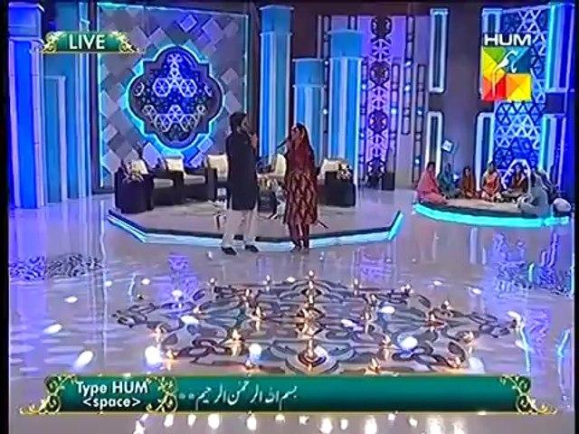 Ashan Khan And Farhan Ali Waris Reciting Kalam With Muhammad Asad Ayub And Tabin  HUM TV Show