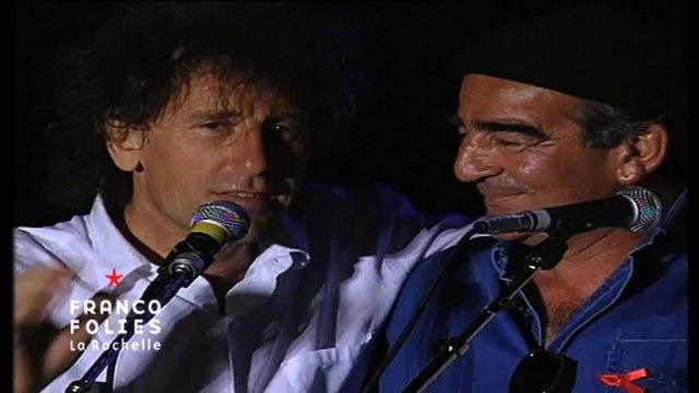Francofolies 1994 / Souchon, Voulzy et Foulquier chantent J'ai 10 ans