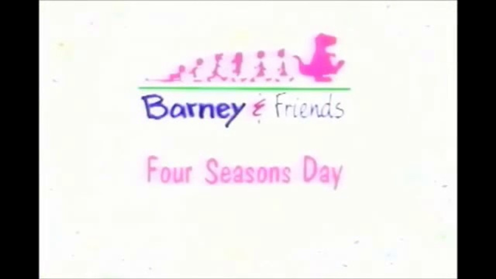 Barney and Friends- Four Seasons Day (Full)