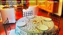 A louer - Maison/villa - Uzes (30700) - 4 pièces - 150m²