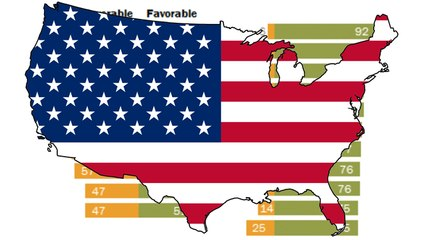 Haters And Lovers Of The United States… Who Hates Us The Most?