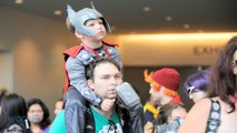 Chris Hemsworth Battles Chris Evans At Comic-Con!