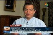 Chávez, el líder y guía de Latinoamérica y El Caribe: Patiño