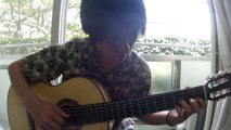[Solo Guitar Tab] IN THE MOOD(Glenn Miller) acoustic solo guitar covered Tanaka Yoshinori 田中佳憲 arrange jazz standard sheet music