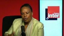 """Christiane Taubira : """"Je ne me pose pas en victime, je suis en capacité de lutter"""""""