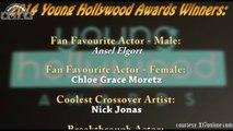 Young Hollywood Awards 2014 - Winners Complete List Justin Bieber, Ian Somerhalder, Vanessa Hudgens