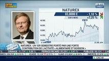 Naturex: chiffre d'affaires en repli au premier semestre: Thierry Lambert, dans Intégrale Bourse – 28/07