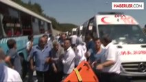 Ümraniye'de Özel Halk Otobüsü Kaza Yaptı 1: Ümraniye'de Özel Halk Otobüsü Kaza Yaptı.