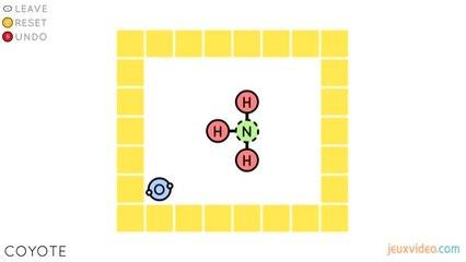 L'univers du jeu indépendant - Sokobond - Sokobond, la chimie en s'amusant
