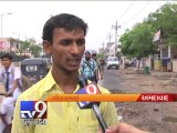 After the rain, it's the pits for city roads, Ahmdabad - Tv9 Gujarati