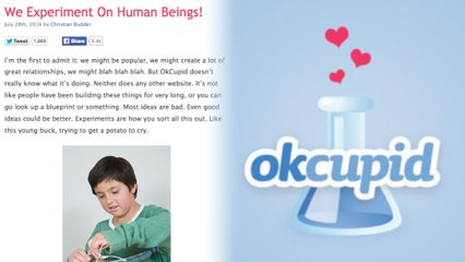 OKCupid Performs Secret Social Experiments on Users