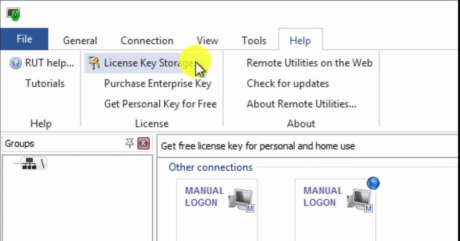 Remote Access License Storage