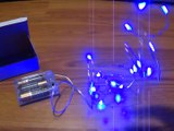 Starry Lights Blue Micro LED Lights - Many Great Uses For Crafters And Decorators