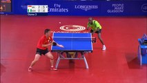 Incredible table tennis moment :  41 shot rally - Men's Singles Table Tennis - Unmissable Moments
