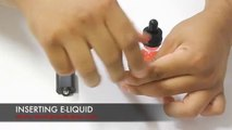 HOW TO USE AN ELECTRONIC CIGARETTE OR VAPORIZER WITH ELIQUID