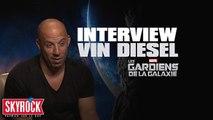 Vin Diesel : L'exclu Skyrock - Les gardiens de la galaxie