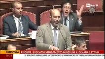 """Vito Crimi (M5S) """"Renzi: Abolire il Senato!"""" - MoVimento 5 Stelle"""