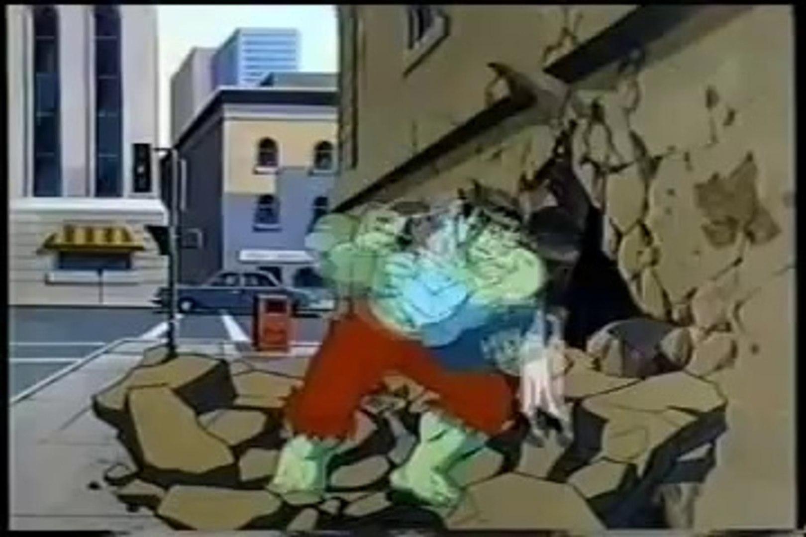 Abertura do desenho O incrível Hulk de 1982