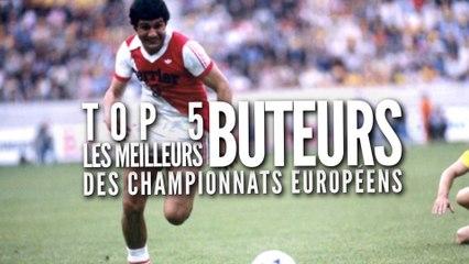 Top 5 des meilleurs buteurs des championnats européens