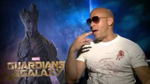 Les Gardiens de la Galaxie - Interview Vin Diesel VO