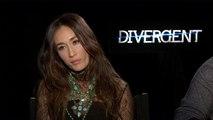 Divergente - Interview Maggie Q et Mekhi Phifer VO
