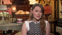 The Grand Budapest Hotel - Interview Saoirse Ronan VO