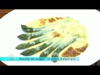 MALC 02/05/14 Recette de saison : le gratin d'asperge