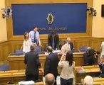 """Roma - Presentazione proposta di legge """"Beni confiscati alla mafia""""  (30.07.14)"""