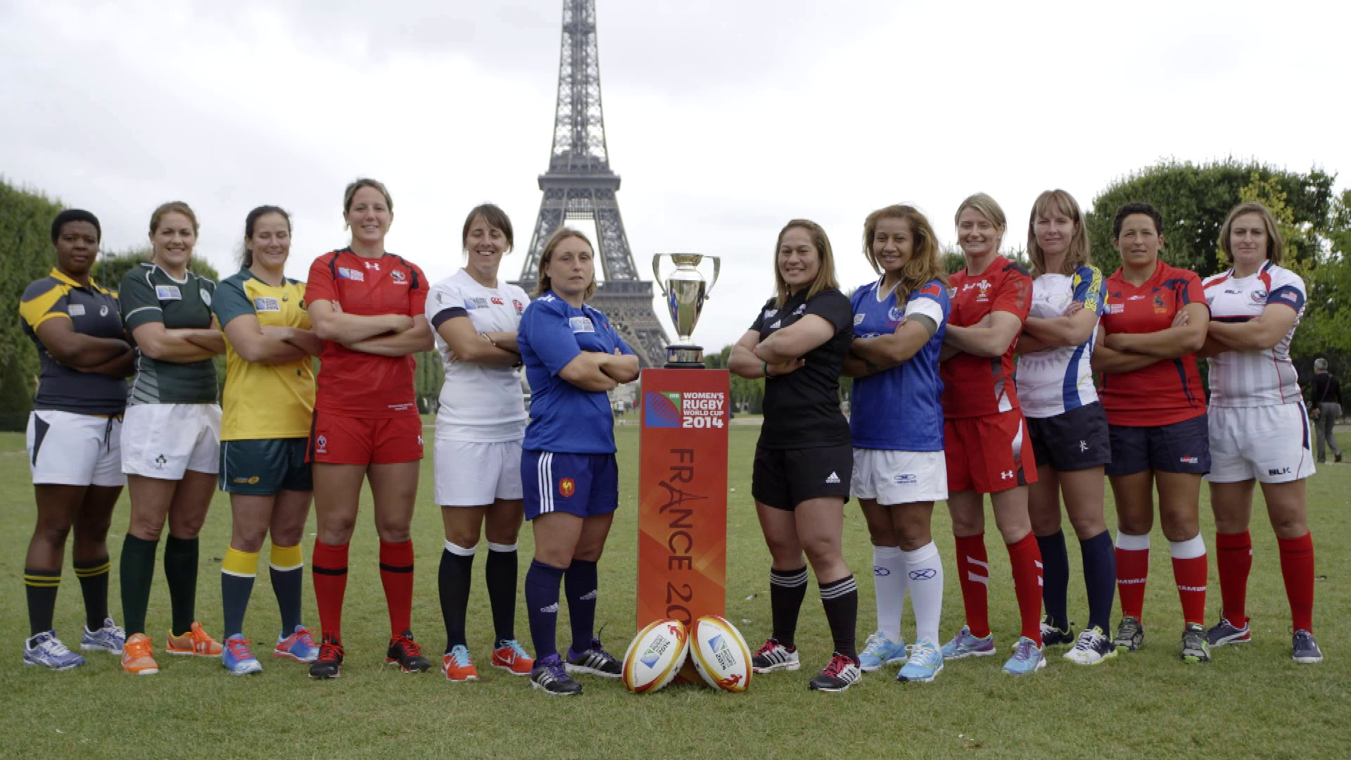 Women's Rugby World Cup 2014 Official preview