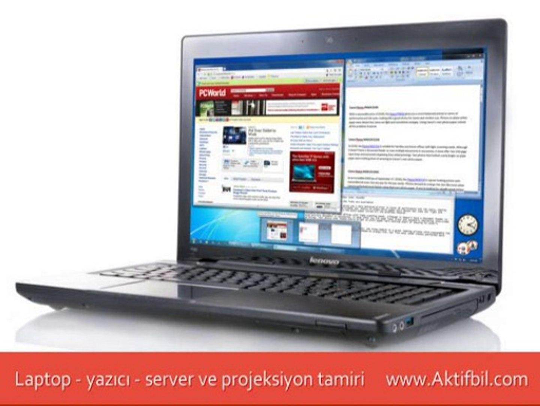 Lenovo Notebook Servisi Ankara