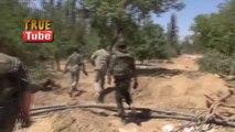 Syrian army found a kilometer-long tunnel dug by terrorists in Damascus Suburbs Maliha