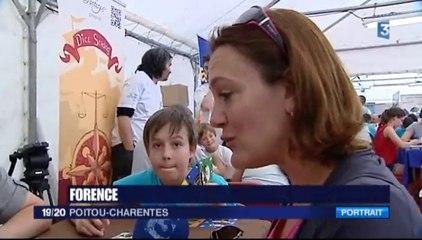 Reportage sur le jeu Pièces MontéeS d'AllumetteS créations lors du FLIP 2014 à Parthenay