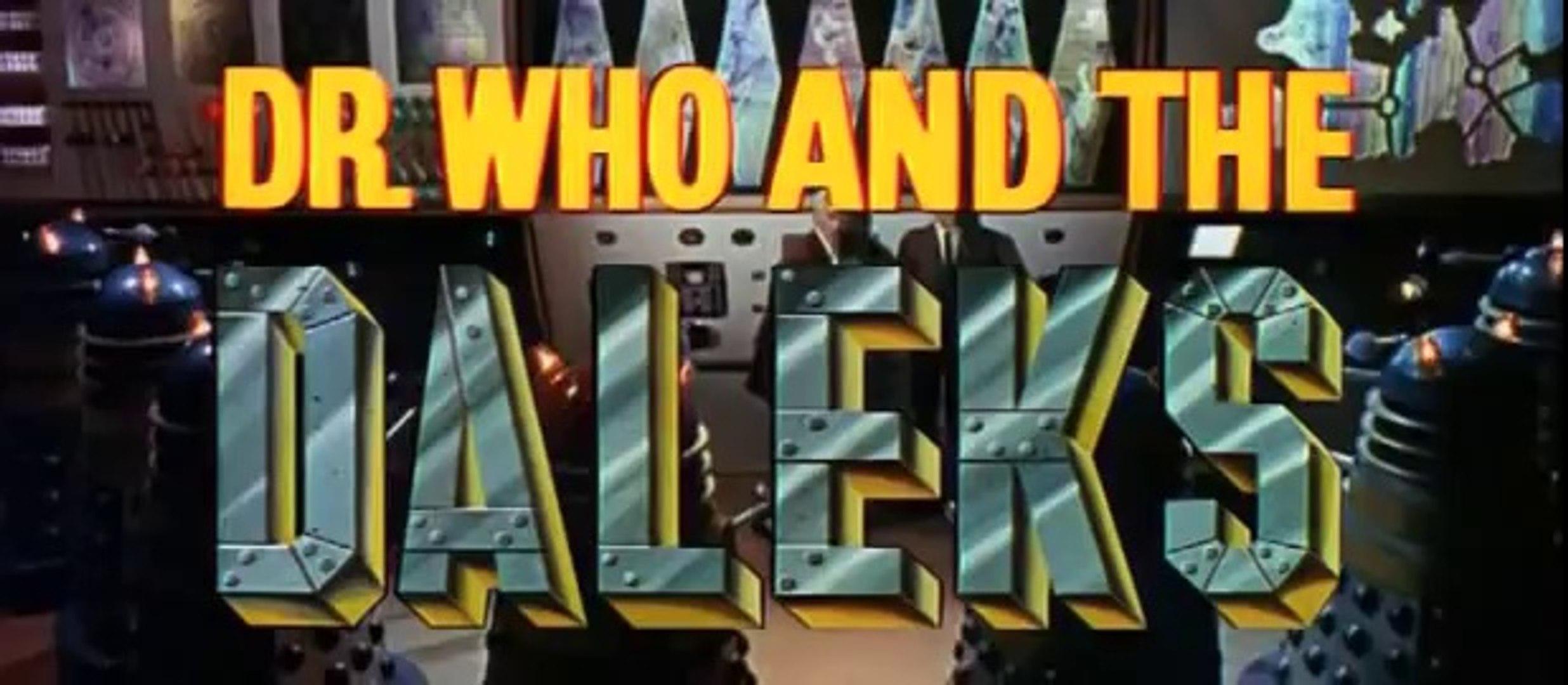 Dr who and the daleks (1965) original trailer