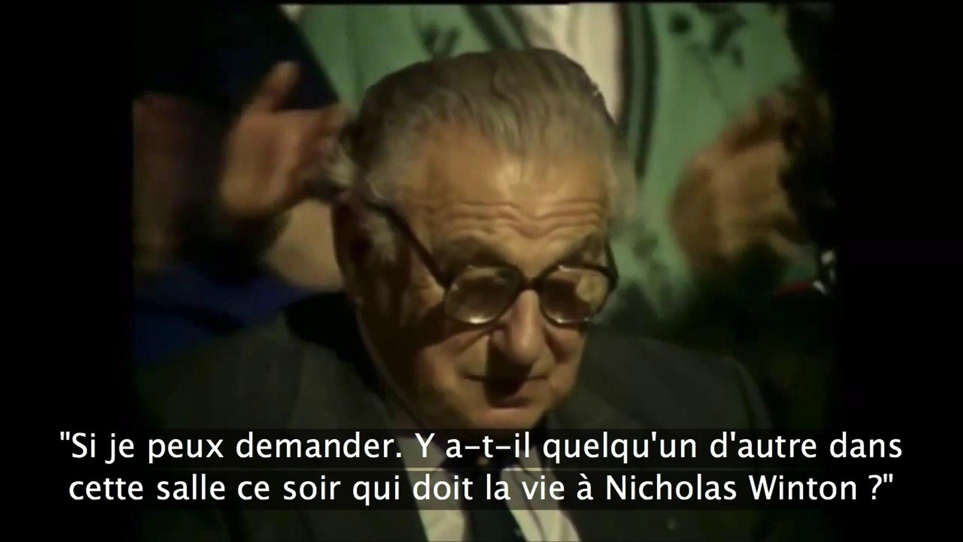 Sir Nicholas Winton : le Schindler Britanique