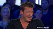 Le fou rire interminable de Benjamin Castaldi - ZAPPING PEOPLE BEST OF DU 12/08/2014