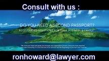 Second passports, Diplomatic Passport and Second Citizenship (1)