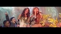 Paula Fernandes e Shania Twain cantam You're Still The One