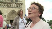 Les cloches de Notre-Dame sonnent pour le centenaire de 14-18