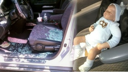 EMTs Break into Hot Car to Save Baby DOLL