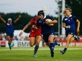 voilà une belle rencontre !!! coupe du monde feminin de rugby