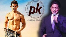 Shahrukh Khan Makes Fun Of Aamir Khan's NUDE PK Poster !