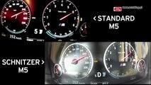 AC Schnitzer M5 vs Standart BMW M5 - Hızlanma ve Maksimum Hız