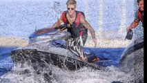 Justin Bieber goes on fast and furious joy ride while on cruise with Michelle Rodriguez