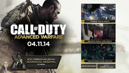 Call of Duty: Advanced Warfare – Story and Multiplayer Trailer Leaked