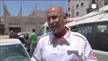 Gazze'deki sağlık ekipleri hareket etmekte zorlanıyor