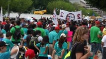"""""""Whose streets? Our streets!"""" chant pro-immigration advocates in D.C."""