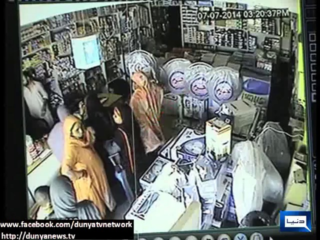 Dunya News – CCTV footage catches four women stealing electronic goods in Multan