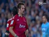 Les fautes grossières de Richie McCaw en finale de Super Rugby
