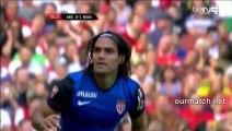 Arsenal 0-1 Monaco (Falcao Goal) ourmatch.net